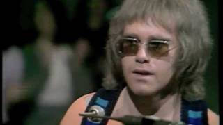 Elton John - Burn Down The Mission (1970) Live on BBC TV - HQ