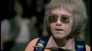 Elton John - Burn Down The Mission (1970) Live on BBC TV - HQ