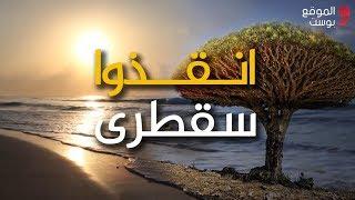 شاهد ناشطون يحذرون: سقطرى لم تعد يمنية