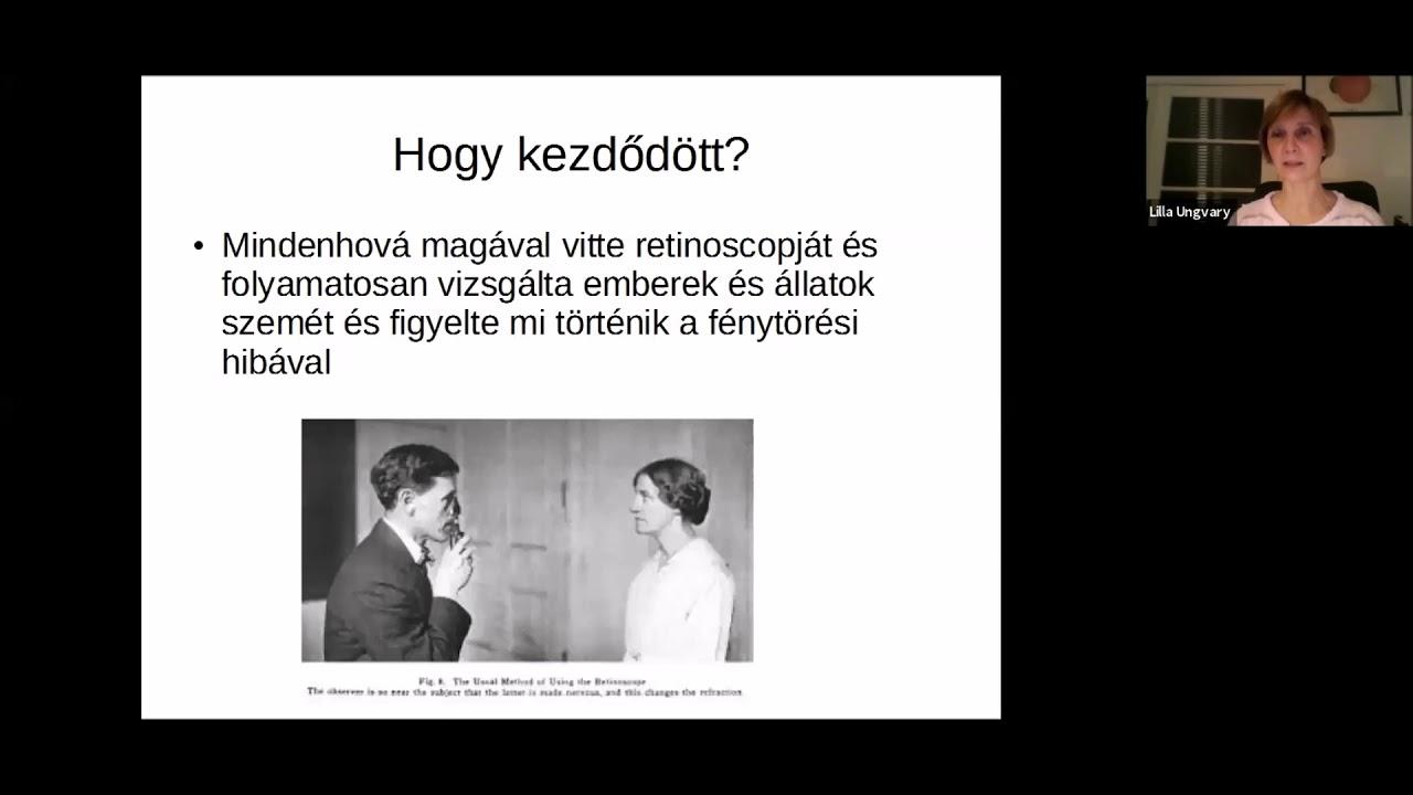 előadások a látásjavításról)