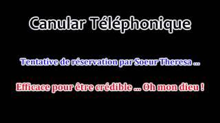 Canular Téléphonique #36 - Oh mon dieu ! Soeur Theresa tente de réserver une chambre ...