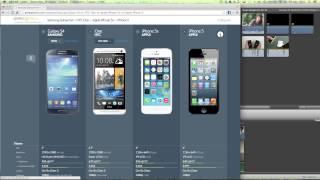 Smartphone Vergleich mit Geekaphone