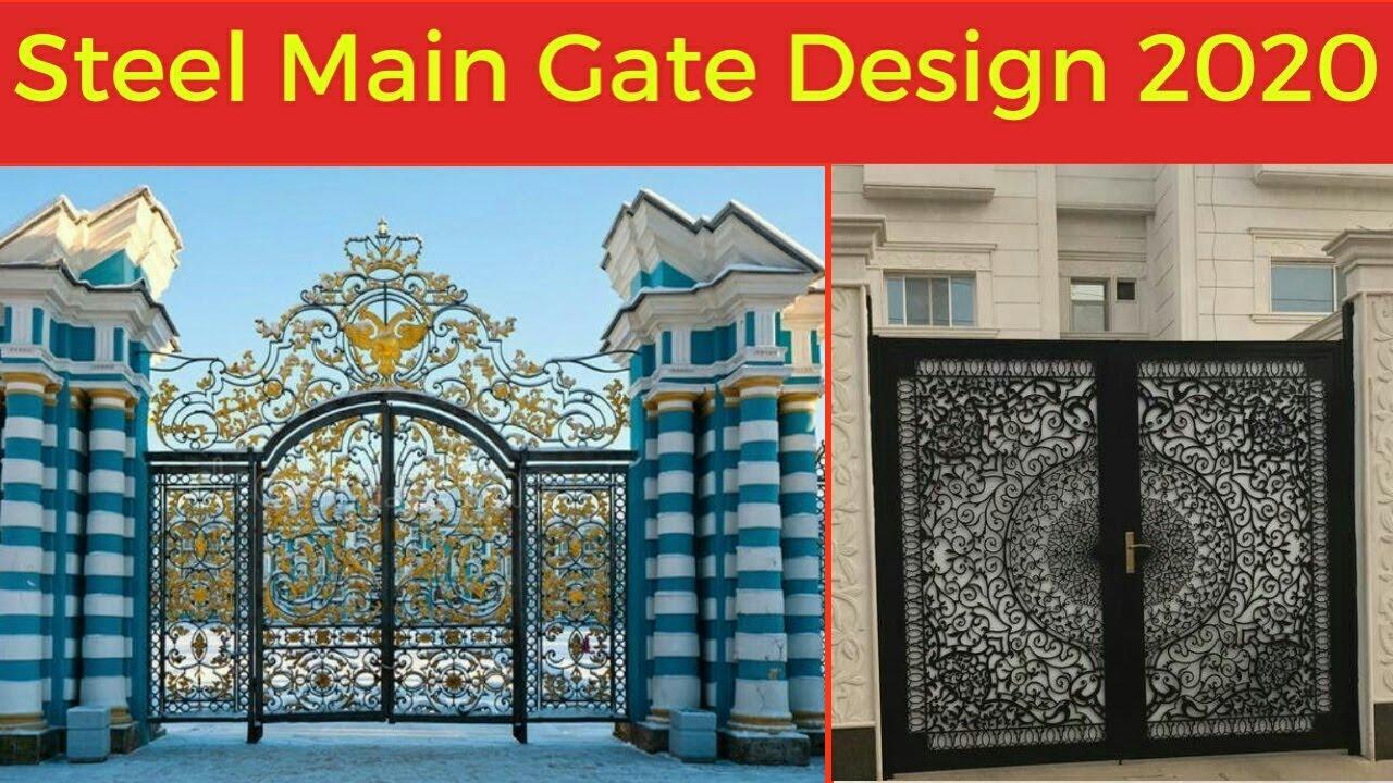 Top 100 modern and beautiful home main gate designs in 2020. Top 50 Beautiful Main Gate Modern Main Gate Design 2020 Youtube