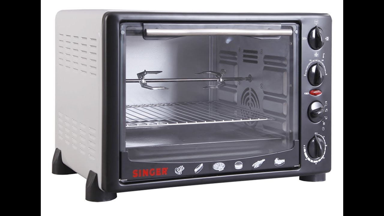 How To Use Singer Electric Oven St034bht Oven Toster Grill
