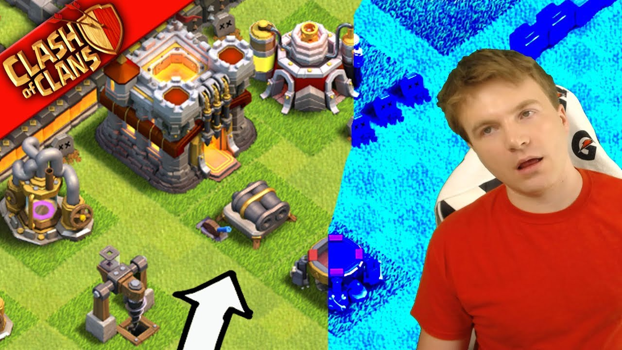 RUSHIN' MAFIA HQ ▶️ Clash of Clans ◀️ MOTHER OF ALL RUSHED BASES
