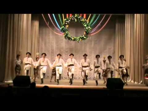 Bukovynian Honored Academic Song and Dance Ensemble. Kaperush