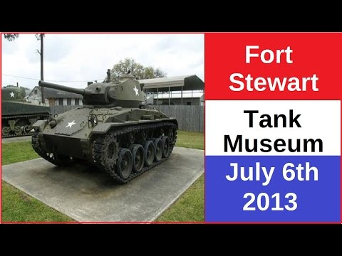 Patriotic Message from Fort Stewart Tank Museum