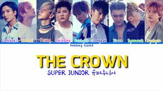 SUPER JUNIOR 슈퍼주니어 'The Crown' Color Coded Lyrics [Han/Rom/Eng]