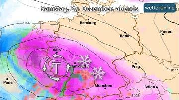 wetteronline.de: Schneesturm über Südwestdeutschland