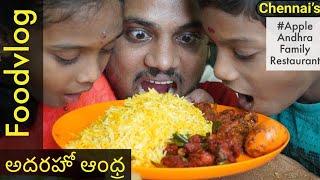 Amazing Andhra Special Gongura Biryani & Jumbo Meals @ Rs 200 | Telugu Vlogger | Wirally
