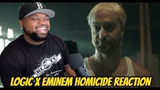 Logic Homicide ft. Eminem (Reaction)