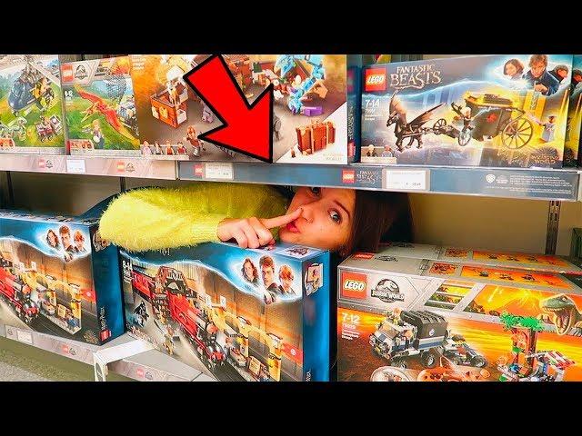 CACCIA AL TESORO IN UN NEGOZIO LEGO!