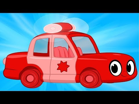 My Red Police Car   My Magic Pet Morphle #47