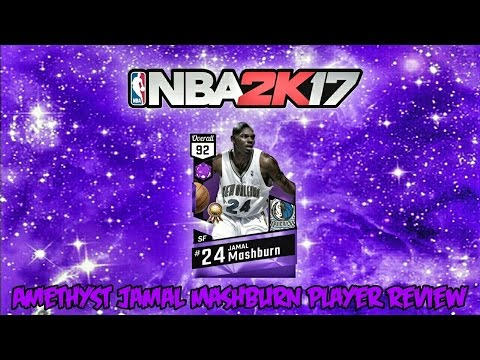NBA 2K17 XB1 MyTeam - Amethyst Jamal Mashburn Player Review