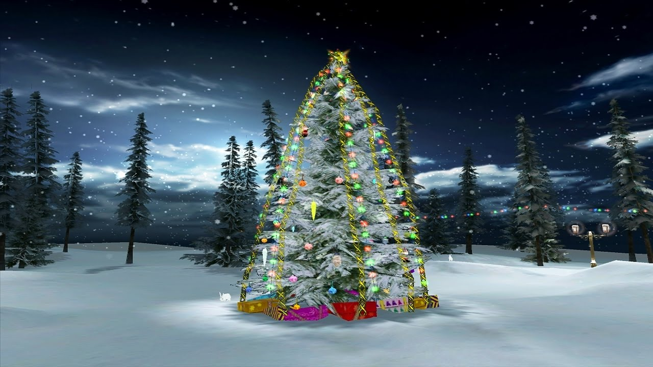 Snow Village 3d Live Wallpaper And Screensaver Christmas Eve 3d Screensaver For Windows Hd Youtube