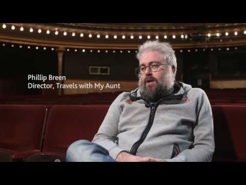 Phillip Breen on Travels with My Aunt at the Citizens Theatre 3 - 20 May citz.co.uk