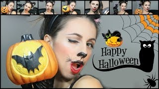 Last minute halloween makeup tutorial: sexy cat!