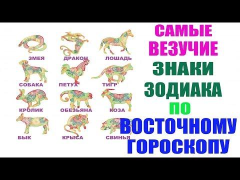 Самые Везучие Знаки Зодиака по Восточному Гороскопу!!!