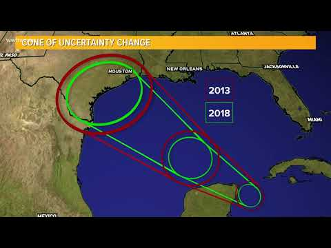 National Hurricane Center's 'cone of uncertainty' to shrink as forecasts improve