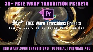 Rgb Zoom Transition Premiere Pro Preset