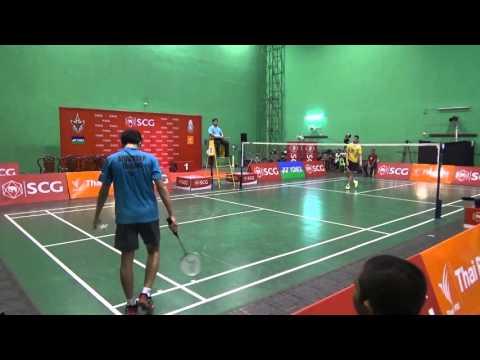 เทป รอบชิง ชายคู่เดียว18ปี SCG Junior Badminton Championship 2016