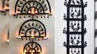 Beautiful Wall Hanging Diwali Diya Collection||Hanging Diwali Diya||