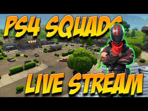 Ps4 Squads with Subscribers!!!!! (Fortnite: Battle Royale)
