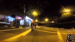Cyclomanics Night Road Ride (60km) - Part 2: Thomson Road, Lornie Road, Adam Road, Bukit Timah Road