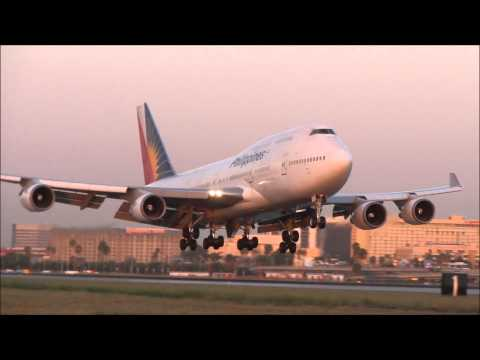 Philippine Airlines Representing at Los Angeles International Airport