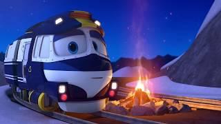 Мультфильм для детей про паровозики – Роботы поезда    все серии подряд