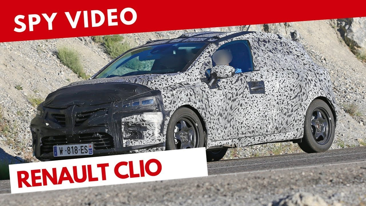 Renault Clio 2019 | Spy video (July 2018) - YouTube