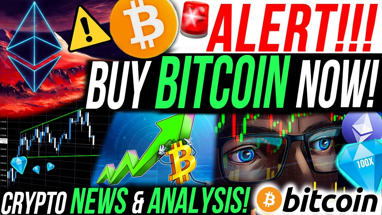 ALERT!!?BUY BITCOIN NOW!! BITCOIN DOMINANCE RECOVERY! MY $4M ETHEREUM TRADE! CRYPTO NEWS & ANALY