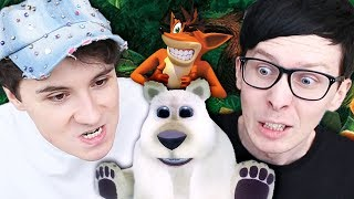 Dan and Phil's Furry Throwdown!