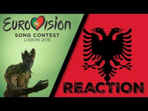 ESC 2018 | ALBANIA - Eugent Bushpepa - Mall (Reaction & Review)