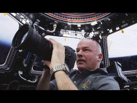 NASA Astronaut Jeff Williams Celebrates the National Park Service Centennial from Space