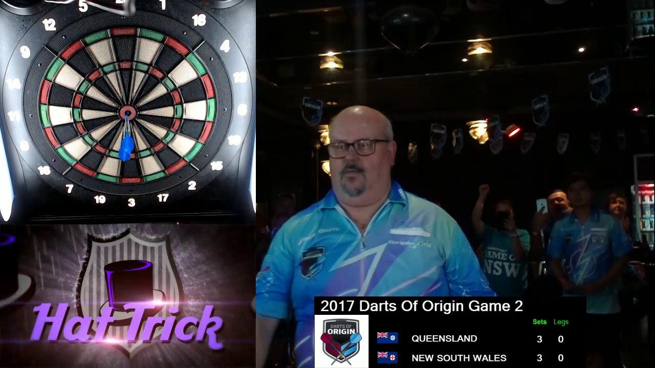 2017 Darts Of Origin Game 2 2 Of 2 Youtube