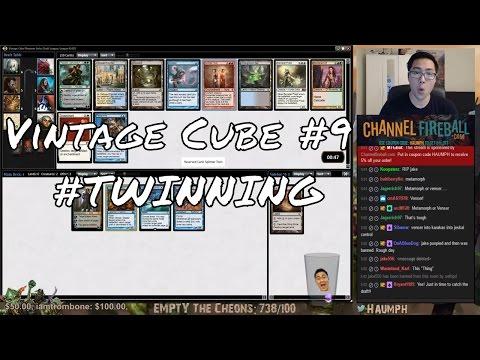 MTG - Vintage Cube #9 - #TWINNING