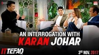 Interrogation with Karan Johar   Sidharth, Sonakshi, Akshaye   Ittefaq   Releasing Nov 3