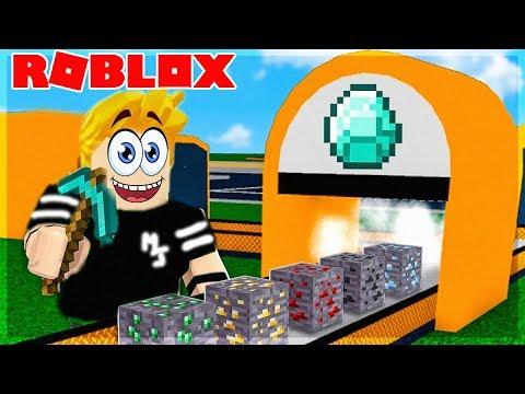 Je Recree Minecraft Dans Roblox Minecraft Tycoon Youtube