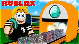 I RECREATE MINECRAFT IN ROBLOX! Minecraft Tycoon