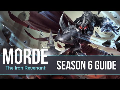 League of Legends Mordekaiser Guide | Season 6 | Patch 6.3