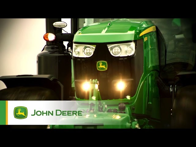 The new John Deere 6250R Tractor - Introduction