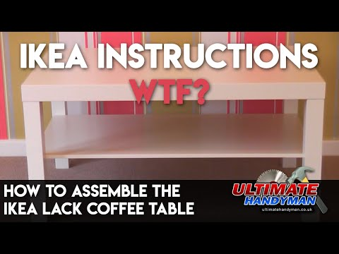 How To Emble The Ikea Lack Coffee Table You
