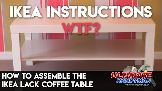 How to assemble the IKEA Lack coffee table