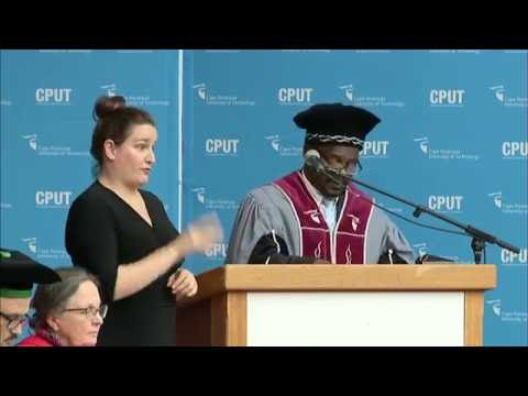 CPUT (Cape Peninsula University of Technology) Spring Graduation Ceremonies 2016