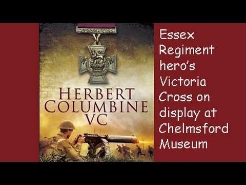 CRHnews - Herbert Columbine Victoria Cross Essex Regiment Museum