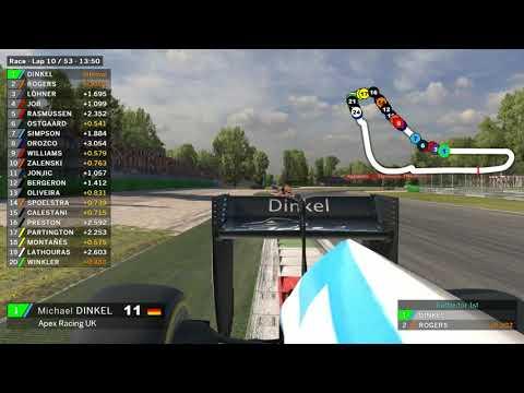 iRacing Road Pro Series - Onboard (Michael Dinkel & Alex Simpson Monza