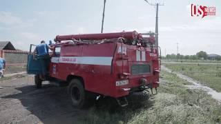 Жители селения Цалык пытаются прийти в себя после обрушившейся на них стихии