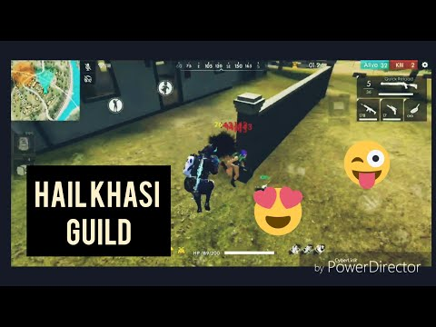 Azog Free Fire | Hail Khasi Guild | Solo Vs Four|  Fresh Start Of The Season😝😝😝😝😝