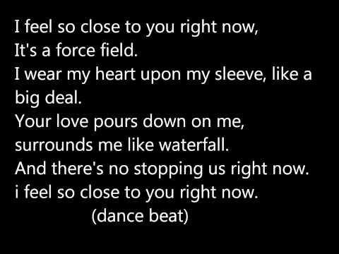 Calvin harris-feel so close lyrics